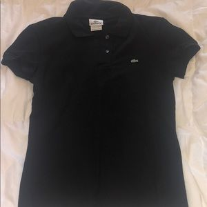 Lacoste short sleeve button up